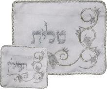Set for Talita and tefillin with original embroidery 36 * 29 cm