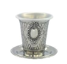 Nickel Kiddush glass