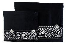 Velvet Kit Talita and tefillin with original silver embroidery 29 * 36 cm