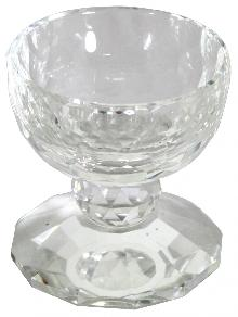 Crystal ware for honey 8 cm