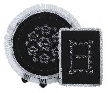 Elegant matzah cover and case for afikoman