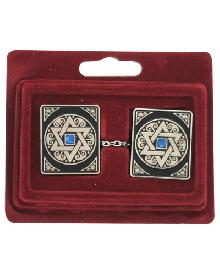 Clips - Clip Talita as Magen David decorated with false stones with chain