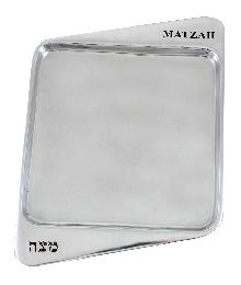 Aluminum stand for the matzot 30 * 22 cm - natural aluminum